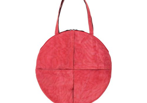 Chanlina - Ethical Round Bag - Red