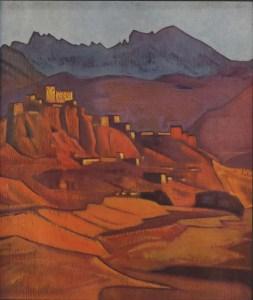 Картина Н.К.Рериха. Ламаюру. Малый Тибет 1925