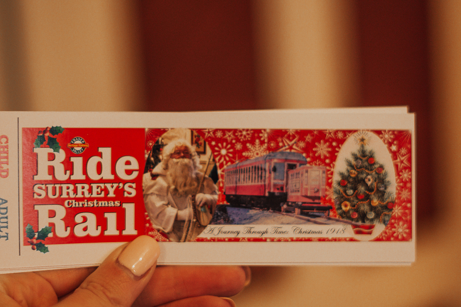 surrey-train-cloverdale-christmas-family-things-to-do