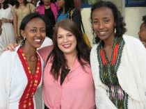 Rahel & Messerate, two of my language teachers