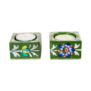 handmade tealight holders sold by Ethiqana a shop specialising in eco friendly products, earth friendly products and sustainable products.