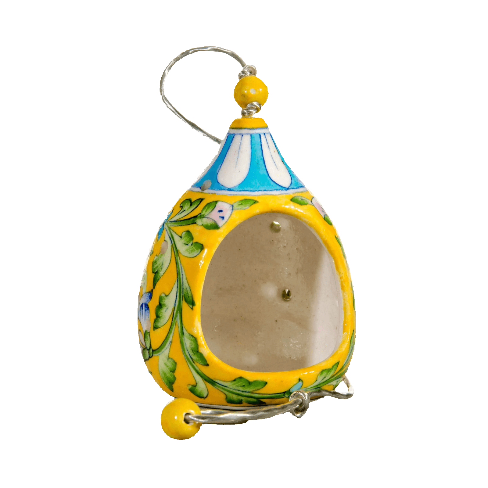handmade bird feeder, by Ethiqana a shop specialising in eco friendly products, earth friendly products and sustainable products.