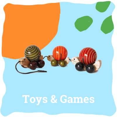 non tosix wooden toys sold by Ethiqana a shop specialising in eco friendly products, earth friendly products and sustainable products.