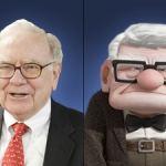 Carl uit Up! & Warren Buffett combineren. levenservaring en durf. Wij ook?
