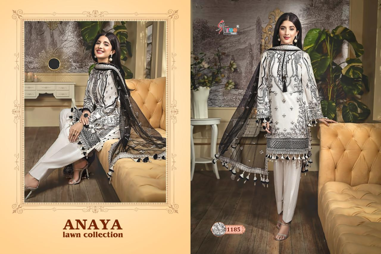 Shree Fabs Anaya Lawn Collection