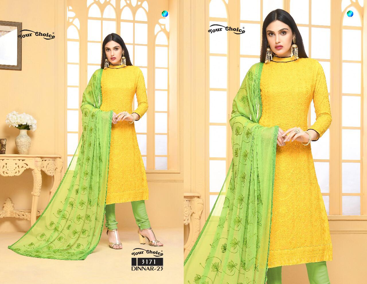 8266eb4109 Download Image Zip · Download PDF · Download Image Zip · Download PDF. Your  Choice Dinnar Vol 23 Chiffon with Embroidery Work Dress ...