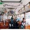 Appareils de mesure a bord d'un autobus SC10 appréciant le confort bioclimatique