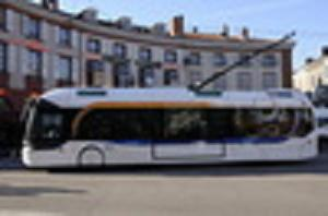 Le Trolley bus Limougeaud