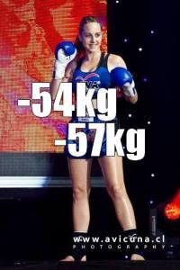 Laurene TUE, boxeuse thaï professionnelle sénior