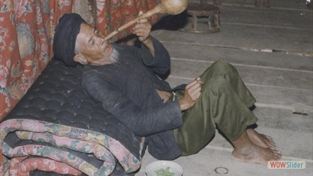 Louche en calebasse (Vietnam)