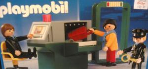 airport security playmobile set