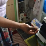 Gas prepayment card