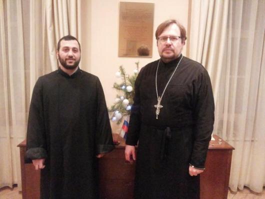 встреча с представителем армянской общины