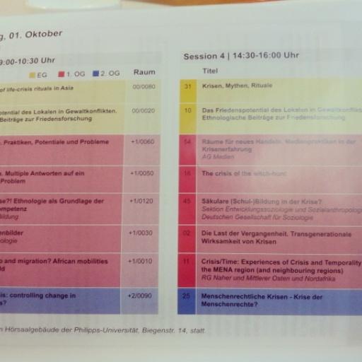 DGV2015. Workshopübersicht