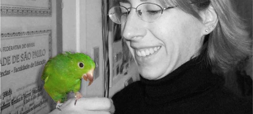 Bióloga Helena Truksa Especialista em Comportamento Animal