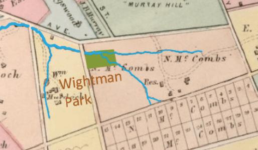 Wightman Park Historical Stream