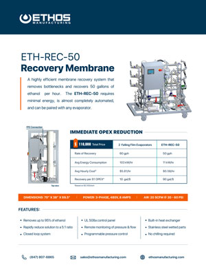 Ethanol Recovery Membrane Download