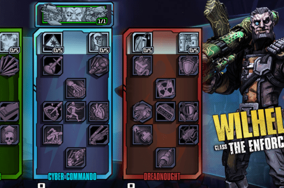 Borderlands: The Pre-Sequel Builds | Wilhelm Enforcer Builds and Skills Guide