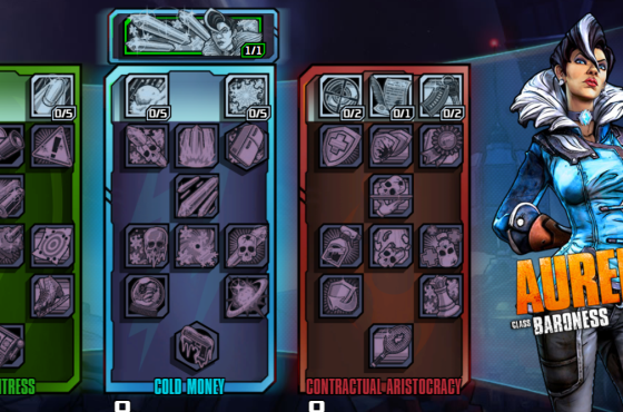 Borderlands: The Pre-Sequel Builds Guide – Aurelia Best Builds
