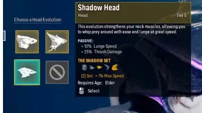 Maneater Shadow Head