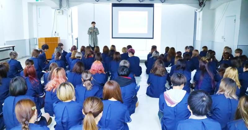 10/4(木)住田美容専門学校にて撮影講座を開催しました。
