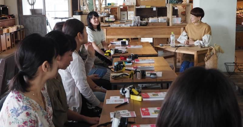 10/9(火)手紙舎 『カメラ1年生』出版記念「入門者向けデジタル一眼講座」を開催しました!