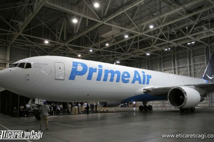Amazon, kargo uçağını görücüye çıkardı.