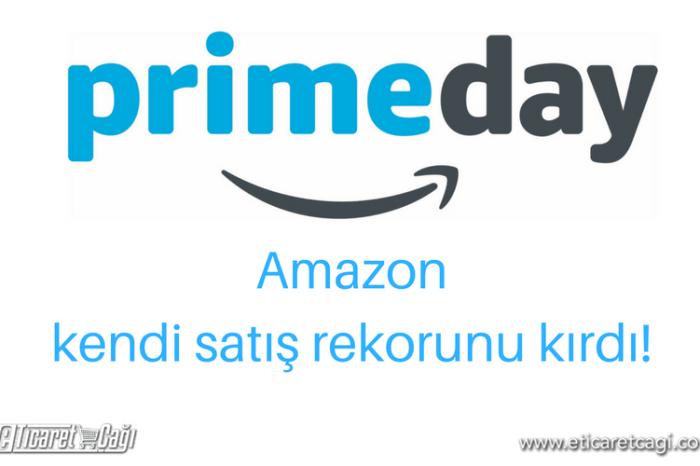 Amazon kendi satış rekorunu kırdı.