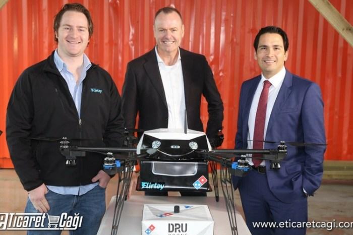 Domino's Pizza drone ile sipariş teslimatı gerçekleştirdi