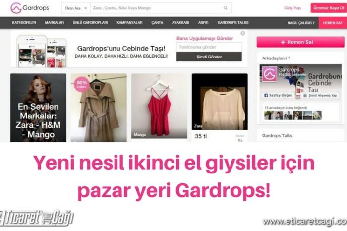 İkinci el pazar yeri Gardrops 1 milyon TL yatırıma ulaştı