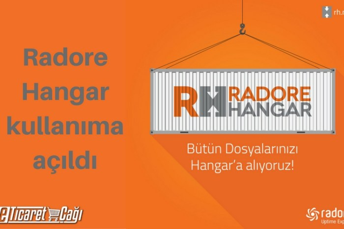 Radore Hangar kullanıma açıldı.