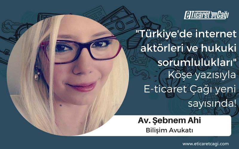 Türkiye'de İnternet Aktörleri ve Hukuki Sorumlulukları