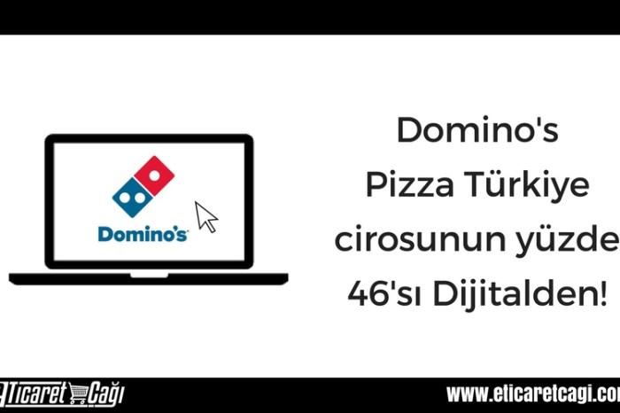 Domino's Pizza Türkiye cirosunun yüzde 46'sı dijitalden!