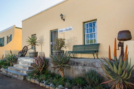 The guest house at 42 Market Street, Cradock, named after Etienne van Heerden.
