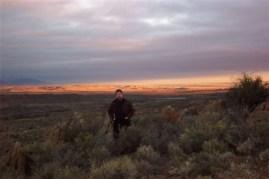 Sunrise in the Karoo.