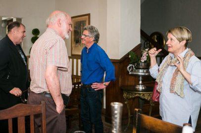 Alexander Strachan, Ernst Kotzé, Godfrey Meintjes and Kaia van Heerden (Photo: Amy Coetzer)