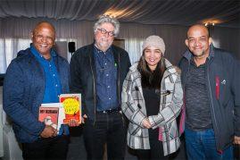 Kirby van der Merwe, Etienne van Heerden, Marsha and Barney Barnes (Photo: Amy Coetzer)