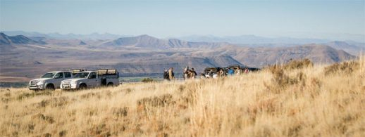 The Fish River valley in the background (Photo: Amy Coetzer)