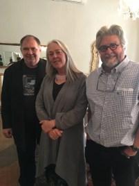 With novelists Alexander Strachan and Lien Botha, Victoria Manor