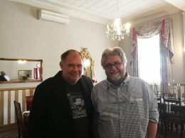 With Alexander Strachan
