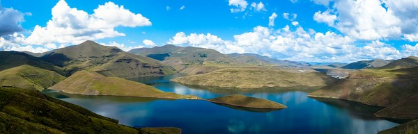 Lesotho The beautiful Katse Dam