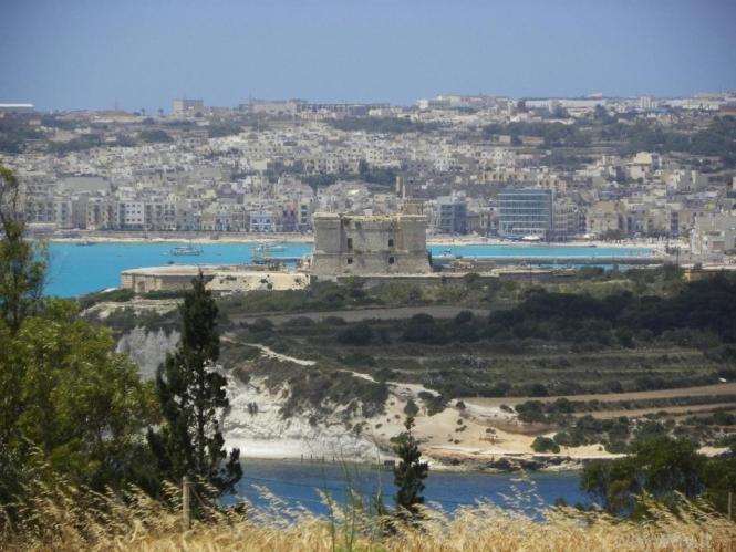 Fort St. Lucian. Malta