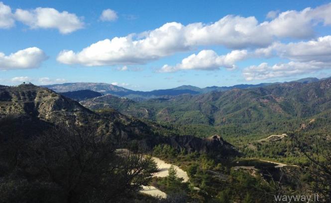 Troodos mountain. Cyprus
