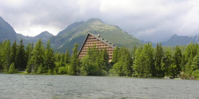 Slovakija. Aukštieji Tatrai. Nuo Štrbske Pleso šturmuojame kalno viršūnę Predne Solisko.