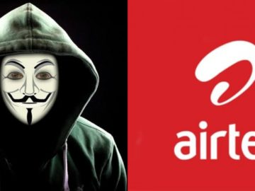 """Airtel users in Nigeria wake up to see airtime worth of N1000 in their accounts, many Assume that """"anonymous"""" hacked airtel"""