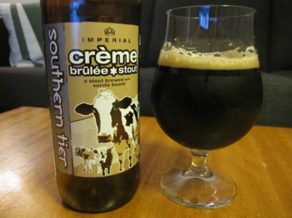size 590 Imperial Creme Brulee Stout As 9 cervejas mais estranhas do mundo