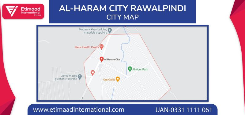 Al Haram City Rawalpindi Map