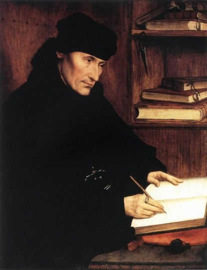Maybe Erasmus (1466—1536) wrote the Bible?