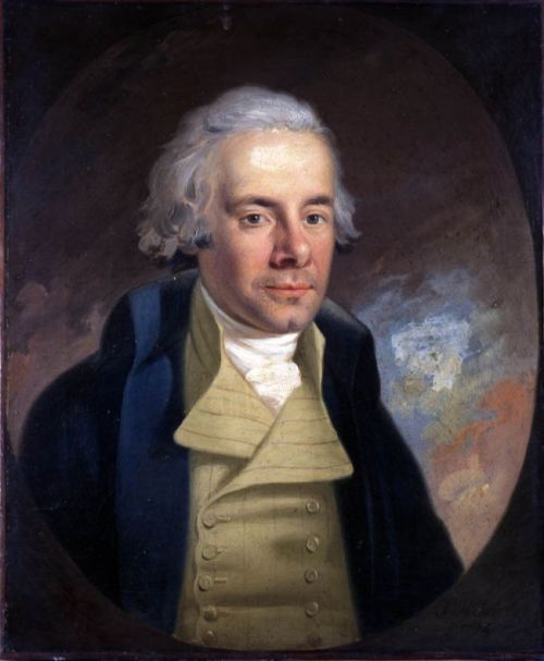 William Wilberforce (1759—1833), pictured by Anton Hickel in 1794. Courtesy of Wikimedia Commons