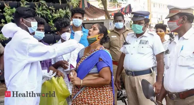 India logs 1.2 lakh fresh cases, lowest in 59 days – ET HealthWorld